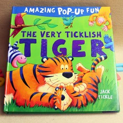 Amazing Pop-Up Fun - The Very Ticklish TIGER [Age 3+]