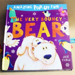 Amazing Pop-Up Fun - The Very Bouncy Bear  [Age 3+]