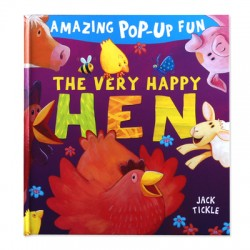 Amazing Pop-Up Fun - The Very Happy Hen [Age 3+]