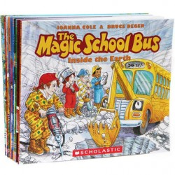The Magic School Bus Collection (8 Books) - Paperback