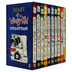 Diary of a Wimpy Kid Collection - 10 Books [9+ years Literature / Fiction] - Paperback -- Free Shipping