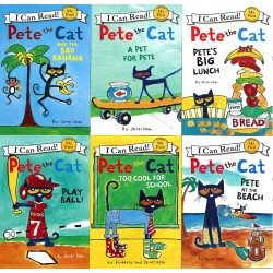 I Can Read: My First Reading - Pete the Cat Collection (6 Books) [4-8 years] - Paperback