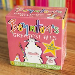 Boynton's Greatest Hits Collection (8 Books) [0-3 years] - Board Book -- Free Shipping