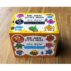 Mr. Men Little Miss All New Story Collection (35 Books) [3 years] - Paperback -- Free Shipping