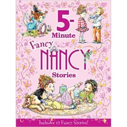 [Defect Clearance]  5-Minute Fancy Nancy Stories [4-8years] - Hardcover