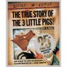 The True Story of the 3 Little Pigs (25th Anniversary) [3 years +] - Paperback