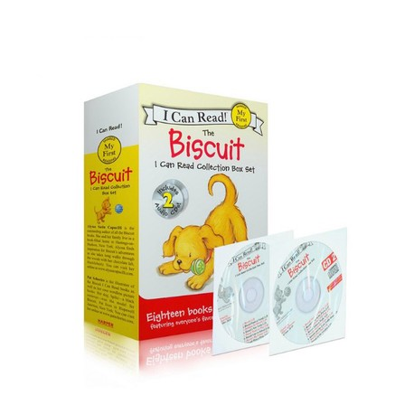 I Can Read: My First Reading - The Biscuit Collection Box Set (18 Books+2CDs) [4-8 years] - Paperback