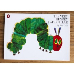 【Warehouse Sale 】The Very Hungry Caterpillar by Eric Carle - Paperback