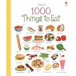 Usborne 1000 Things to Eat [Age 4+] - Boardbook