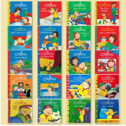 [Warehouse Sale] Caillou Collection (20 Books) - Paperback