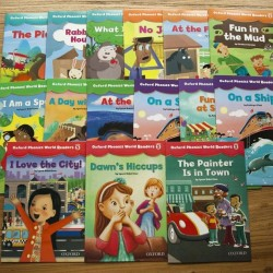 [Warehouse Sale] Oxford Phonics World Readers L1 - L5 (15books) - Paperback