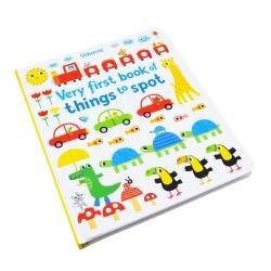 [Warehouse Sale] Usborne - Very first book of things to spot [Age 6+ months] - Boardbook