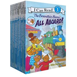 [Warehouse Sale] I Can Read Level 1 :  The Berenstain Bears Collection (25 Books) - Paperback