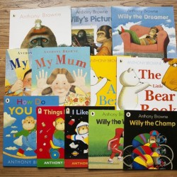 [Warehouse Sale] Anthony Browne Collection (12 Books) - Paperback
