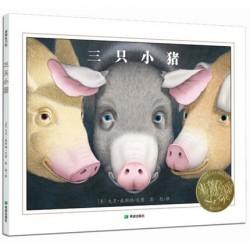 2002年凯迪克金奖:三只小猪 【3-6岁 经典故事】- 精装