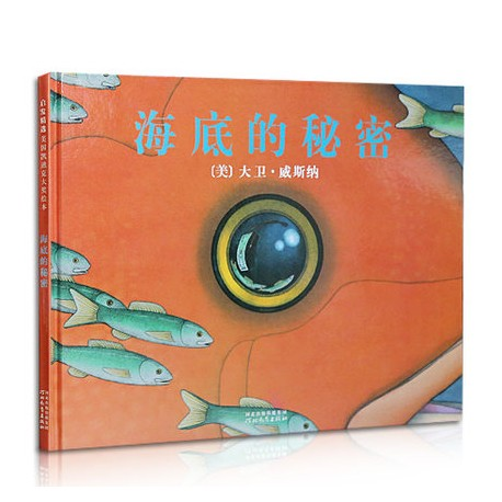 2007年凯迪克金奖 : 海底的秘密- 无字图画书  【3岁以上 创意想象】- 精装
