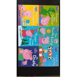 [Warehouse Sale] Peppa Pig Story Books Collection (6 Books) + 1 book FREE - Paperback