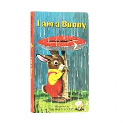 I am a Bunny【Age 0-3】- Board Book