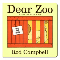 Dear Zoo - A Lift the Flap Book【Age 0-3】- Board Book
