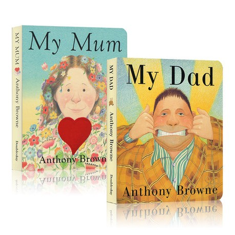 My Dad My Mum【Age 0-3】- Board Book