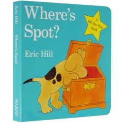 Where's Spot? A lift-the-flap book 【Age 0-3】- Board Book