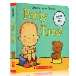 Potty Time!【Age 0-3】- Board Book