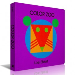 Color Zoo【Age 0-3】- Board Book