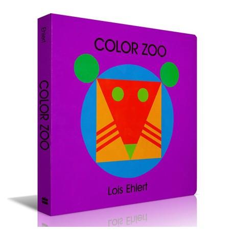 Color Zoo【Age 0-3】- Board Book