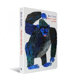 Eric Carle : From Head to Toe【Age 0-3】- Board Book