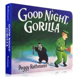 Good Night, Gorilla【Age 0-3】- Board Book