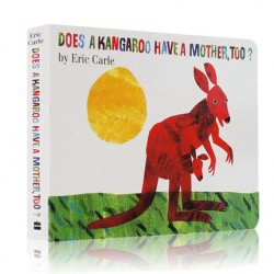 Eric Carle : Does a Kangaroo Have a Mother Too?【Age 0-3】- Board Book