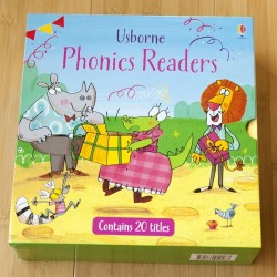 【PRE-ORDER】Usborne Phonics Readers 20 Books Collection (4years +) - Paperback