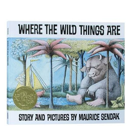 Where The Wild Things Are (50th Anniversary) 【3+years】- Paperback