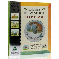 Guess How Much I Love You【3+years】- Paperback & DVD