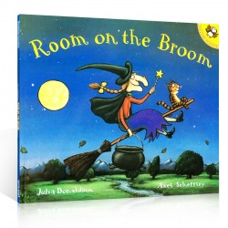【minor dented】Room on the Broom【4-8 years】- Paperback