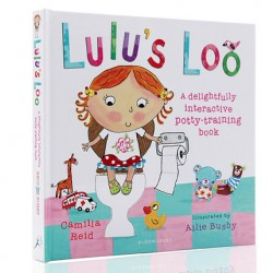 Lulu's Loo : A delightful interactive potty-training book - Touch and Feel Book【2-5 years Potty Training】- Hardback