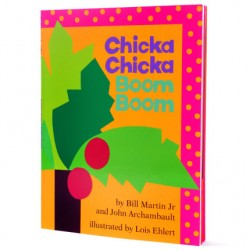 Chicka Chicka Boom Boom【Age 4-6】- Paperback