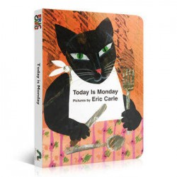 Today Is Monday【Age 4+】- Board Book