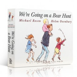 We're Going on a Bear Hunt【Age 3+】- Board Book