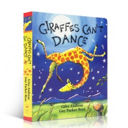 Giraffes Can't Dance【Age 4+】- Board Book