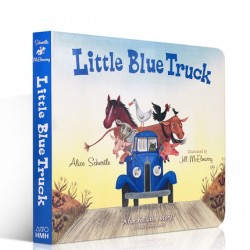 Little Blue Truck【Age 4+】- Board Book