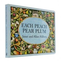 Each Peach Pear Plum【Age 4+】- Board Book
