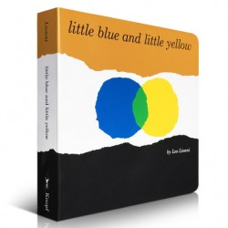 Little Blue and Little Yellow【Age 3+】- Board Book