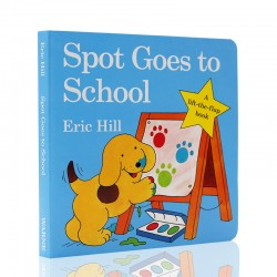 Spot Goes to School - A lift-the-flap book【Age 3+】- Board Book