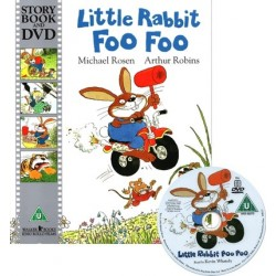 Little Rabbit Foo Foo【Age 3+】- Paperback with DVD