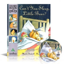 Can't you Sleep, Little Bear?【Age 3+】- Paperback with DVD
