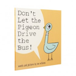 Don't Let the Pigeon Drive the Bus! 【Age 3+】- Paperback