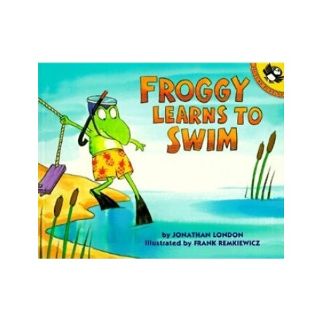 Froggy Learns to Swim【Age 3+】- Paperback
