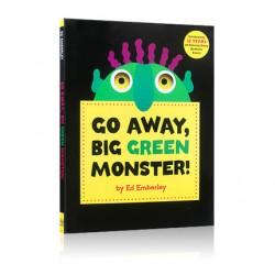 Go Away, Big Green Monster! (3years +) - Hardcover