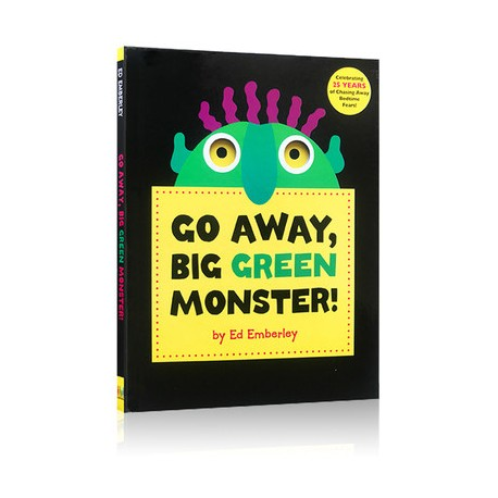 Go Away, Big Green Monster! (3years +) - Hardcover